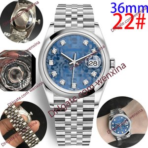 Calidad Deluxe Women Watch Watch 36mm Diamond Circuit Pattern Montre de Luxe Rose Gold Classic 2813 Mecánico Automático Material Relojes para hombre