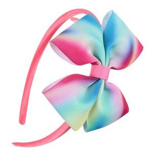 Cute Bowknot Hair Band for Baby Girls Hair Accessories Ribbon Handmade Hair Bows Hairbands Ribbon Headband Headwear Diademas