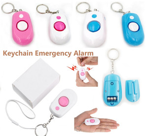NEW personal safety Self-Defence Alarm 120DB Protect Women Girl children old man Anti-Attack anti-rape alarm anti-lost anti-theft alarm with