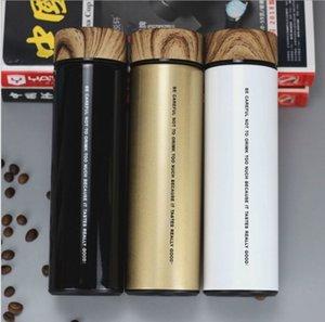 Wyzty-Qualität 2020 Doppelwand-Stainls Stahl-Vakuumflaschen 500ml Thermo-Tasse Kaffee Tee Milch Reisen Tasse Thermol Flasche