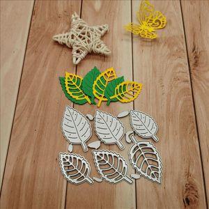 Painting Supplies Leaf Metal Cutting Dies For DIY Scrapbooking Paper Cards Decorative Crafts Embossing Die Cuts