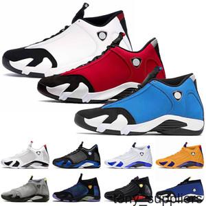 2021 أعلى جودة jumpman 14 رياضة أحمر رجالي 14S كرة السلة أحذية جامعة الذهب Hyper Royal Black Toe Laney Gym Blue Sports Trainers Sneakers