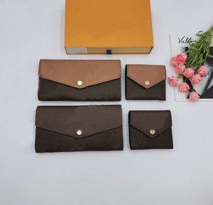 Luxury brand designer wallet new fashion leather wallets card holder Coin purse clutch