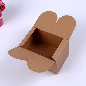 15*10*8.5cm Black Kraft Paper Boxes Mooncake Chocolate Packaging Storage Box Baking Food Carton Box Cookies Gift Box 300Pcs lot