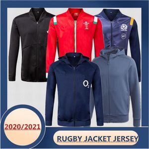 NOVITÀ 2020/2021 Zelanda Galles Irlanda Inghilterra Scozia Giacca da rugby Giacca Jersey Dimensioni: S-XXXL La qualità è perfetta. Consegna gratuita