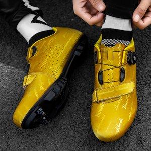 MTB Cycling Shoes Mens Outdoor Sport SAPATILHA Ciclismo Autobloccante antiscivolo Mountain Bike da corsa da corsa