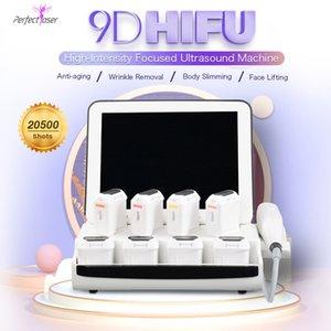 HIFU FACE Heben Haut Anziehen Körper Abnehmen 3D HIFU Hohe Intensität Fokus Ultraschall HIFU 2D-Maschine
