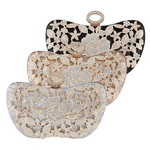 Bag Handbag Hollow Evening Dinner Cheongsam Rhinestone 2021 Diamond Shoulder Banquet Bridal New Rptrc