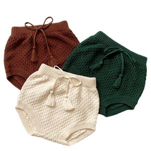 Shorts Baby Knitted PP Toddler Girl Boys Spring Bloomer European American Style Fashion Bloomers Kid Bottoms Korea