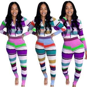 Дизайнер женские две части набор толстовка с длинным рукавом кошельщик с длинным рукавом.