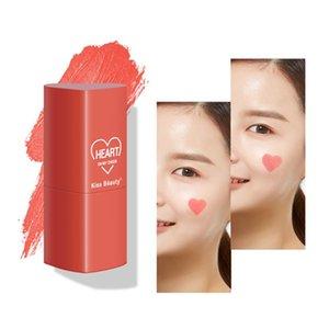 Blush 4 Color Love Makeup Stick Face Cream Cheek Cosmetics Brighten 51040