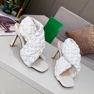 Zapatos de mujer de tacón alto de lujo zapatos de tacón alto negro tacón de tacón alto vestido de novia de mujer Shoelace Box Shoe008 123
