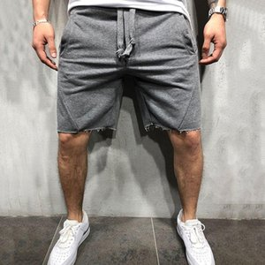 Männer Shorts 2021 Sommermarke Hohe Qualität Baumwolle Männer Bodybuilding Fitness Sweat Jogger Casual Turns Herren