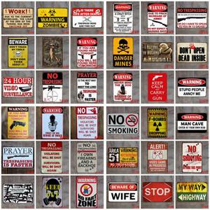 Metal Tin Sign Paints Retro Pared Plaque Signo de Arte Etiqueta Pintura Pintura Hogar Restaurante Decoración Pub Signos Decoración de Pared AHB5511