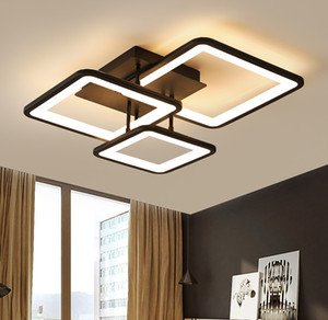 2021 LED Chandelier Modern Ceiling chandeliers Lighting For Living Room Bedroom kitchen Lustre With Remote Control Light Fixtures