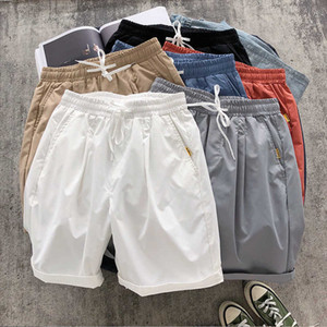 Shorts Men's Capris Loose Casual Summer Korean Fashion Big Underpants Sports Beach Thin Pants