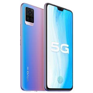 "Original Vivo S7 5G Teléfono móvil 8GB RAM 128GB 256GB ROM Snapdragon 765G Octa Core 64MP AR 6.44 ""Pantalla completa ID de huella digital Teléfono celular inteligente"
