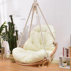 Мебель лагеря Nordic открытый сад патио качели балкона висит стул дома натуральный ротанг гамак для спальни одиночная колыбель