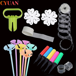Wedding Birthday Party Decor Balloons Accessories Arch Balloon Connector Clips Flower Seal Clips Balloon Holder Column Stand