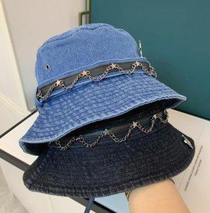 Venta caliente Diseñador Bucket Hats 4 Temporada Bonnet Beanie Casquette para las mujeres para hombre VERANO CAPER PEQUETE 2 COLORES MUY CALIDAD