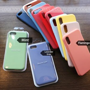 Luxury Official Original Silicone Case For Phone 11 Pro Max Case For Apple iPhone 12 Pro 7 8 Plus X XS Max XR 6 6S 5S SE Cover