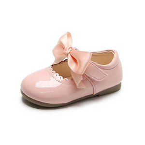 Baby Shoes Girls Shoes Fashion Bowknot Princess Toddler Shoes Spring Autumn Toddlers Dress Shoe Moccasins Soft Girls Footwear B3958