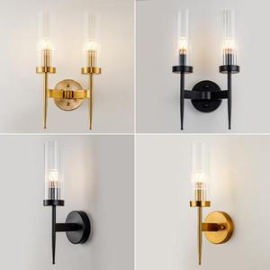 Wall Lamps Light Luxury Gold Lights Sconce Mirror Mount Lamp For Bedroom Decor Home Indoor Lighting Corner Bathroom Fixture
