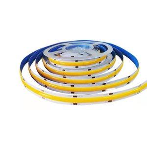 COB LED Strip Light, DC 24V LEDs Strings Light 320 Chips M, High Lumen Tape Lights Flexible 6000K Rope Lamps for Bedroom, Stage, Home, Cabinet, Kitchen,DIYLightinG usastar