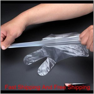 Food Plastic Gloves Disposable Gloves For Restaurant Kitchen Bbq Eco-friendly Food Fr qylgwz my_home2010