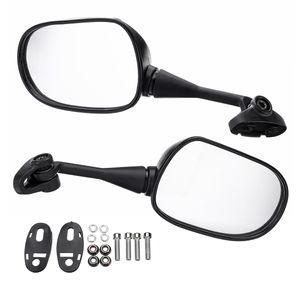 2x 18mm Мотоцикл заднего вида Зеркала заднего вида Стеклянная задняя сторона Зеркало влево для Honda CBR600 CBR600RR CBR1000 CBR1000RR