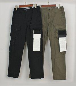 TopStoney Compass Side Label Black 21ss Четыре сумки стирки Функция повседневные комбинезоны роскоши дизайнеры бронь повседневные уличные штаны