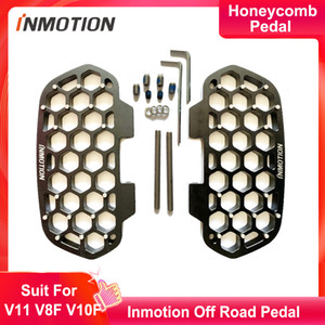 Original Inmotion V11 Honeycomb pedal suit for V8F V10F MSP New Widen Pedal Original Cool Monowheel Accessories Off Road Pedal