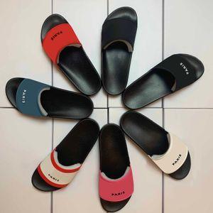 2021 Fashion slide sandals slipper men women WITH ORIGINAL BOX Hot Designer beach flip flops slipper top QUALITY