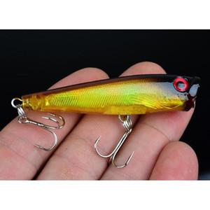 Topwater Floating Sea Bass Crankbait Lure Poper Fishing Hooks Bait 6.5cm 6.6g Pesca Minnow Ps Paint jllunu outbag2007