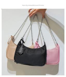 Hobo shoulder bags for women Chest pack lady Tote chains handbag presbyopic purse Fashion messenger bag handbags canvas