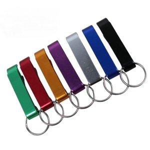 Verschiedene kleine Förderung billiges Geschenk eloxiert Aluminium Metall Stock Kostenloser benutzerdefinierter Logo Gravierbier Weinklaue Flaschenöffner mit Keychain