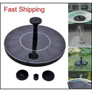 Outdoor Solar Powered Water Fountain Pump Floating Outdoor Bird Bath For Bath Garden Pond Watering K qylBEv homes2007