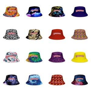 Backwoods Buckets 17design Casquettes Patchwork Travel Sun Hat Bucket Caps Leisure Visor Solid Color Woman Fisherman Cap Sport Men Ou jllALg