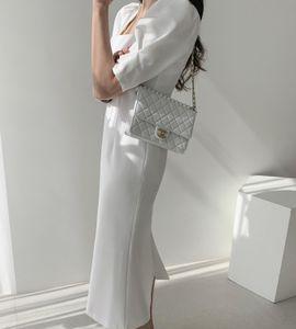 Summer 2021 New Women Solid Elegant Es Office Lady Business Work Party Slim Waist Fashion 6HE1