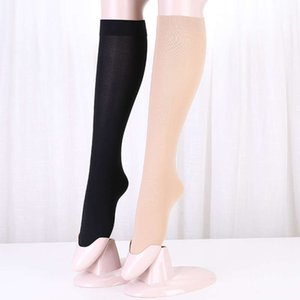 Middle tube stockings velvet middle silk female no more than knee half solid color scar covering calf