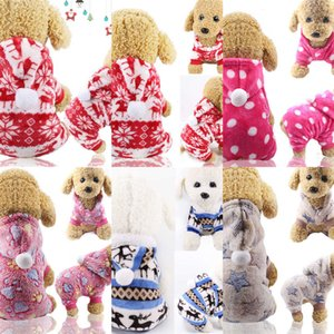 Pet Clothes for Dog Cat Puppy Hoodies Coat Winter Sweatshirt Warm Sweater Dog Outfits XS S M L XL XXL GGE2155 10 7I5Q