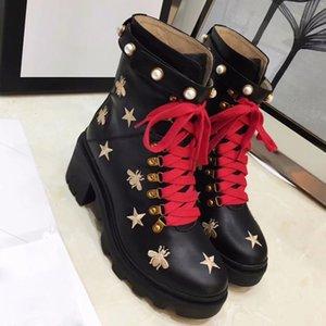 Gran tamaño nuevo estilo otoño e invierno martin botas zapatos zapatos al por mayor marca moda lujoso diseñador mujer zapatos