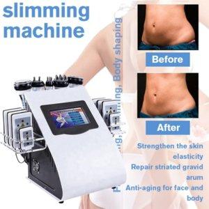 KIM 8 Степень для похудения Липосакция Кавитация Тело для похудения Машина Многофункциональное РЧ Оборудование для красоты Оборудование