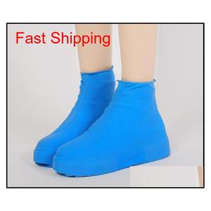 Shoes Women Shoes Bdehome Reusable Antiskid Waterproof Qylkgs Rain Coat Shoe Cover Set Slip-resistant Raincoat Accessories Boots Men Wpbmk