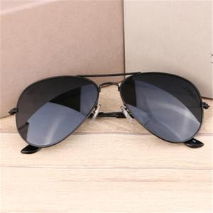 Best Selling Pilot Classic Occhiali da sole Nuovi Occhiali da sole in resina in metallo Protezione degli occhi UV400 Occhiali da sole del marchio all'ingrosso 58mm