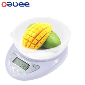 New Portable 5kg Digital Scale LCD Electronic Scales Steelyard Kitchen Scales Postal Food Balance Measuring Weight Libra