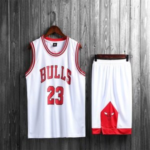 Team No.23 Basketball Match Jersey Men's Vest Loose Training Suitg9wh