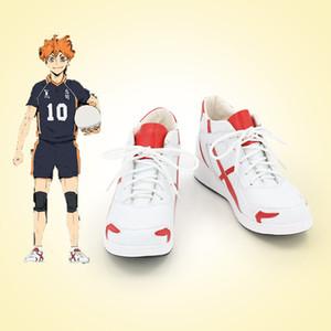 Haikyuu Hot Japanese Anime!! Cosplay Shoyo Hinata Shoes Women men Running Men women Lolita High-roller Tennis Pbmu