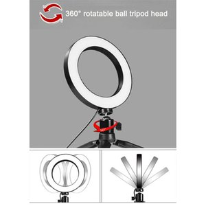 LED Selfie Light Studio Camera Ring Light Photo Phone Video Lamp With Tripods Selfie Stick Ring Table Fill For Canon