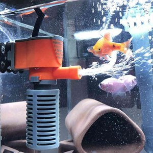 3-in-1 Submersible Pump for Aquarium, Ac220-240v Micro Filter Small Fish Tank, Air and Oxygen